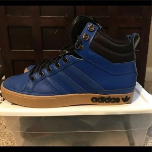 Adidas High Top Sneakers Blue